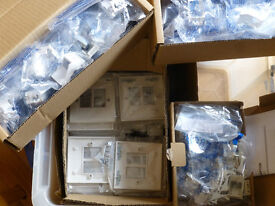 Boxful of new network faceplates