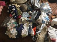 Bundle of boys 0-3 clothes
