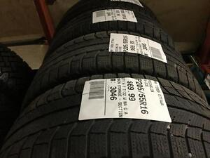 205/55/16 Michelin X-Ice *Winter Tires*