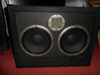 BEHRINGER ULTRABASS BB210 BASS CABINET Excellent condition. Paper cones.