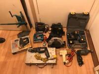 Power tools job lot