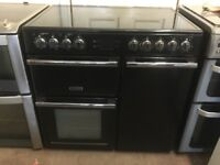 Leisure range electric cooker CMCE96K 90cm black double oven 3 months warranty free local delivery!!