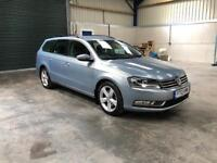 2012 vw Passat se bluemotion 2.0tdi estate 1 owner 78,000! Pristine guaranteed cheapest in country