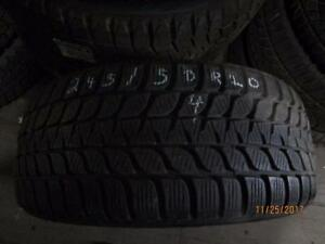 245/50R20 SINGLE ONLY USED  BRIDGESTONE WINTER TIRE