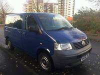 2006/06 Plate Volkswagen Transporter 1.9 Tdi 5 Speed Manual 9 Seater Lovely Camper Project