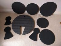 RockSolid Drum Kit Silencer Practice Pads