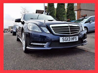 2013 Mercedes Benz E Class 2.1 E250 Diesel Auto CDi BlueEFF Sport --- DUEL Exhaust -- Leather -- PCO
