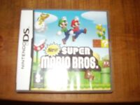 NINTENDO DS GAME NEW SUPER MARIO BOXED