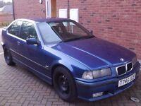 318 TI E36 compact, 318ti, Avus Blue, Sport