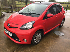 Toyota Aygo Mode VVT-1 - Sept 2013 only 18400 miles