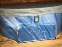 2-3 person hot tub coastspas with lid very economical