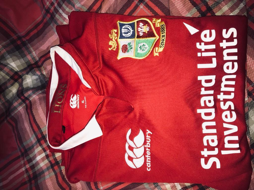 British And Irish Lions Rugby Shirt In Girvan South Ayrshire