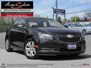 2014 Chevrolet Cruze ONLY 33K! **SUNROOF**CLN CARPROOF**BACK-...