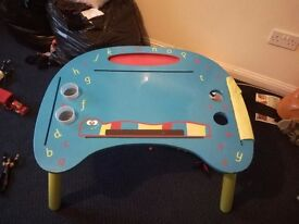 Childrens drawing and art table