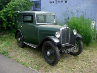 FOR SALE- Morris Minor Saloon 1932 NO MOT OR TAX NEEDED