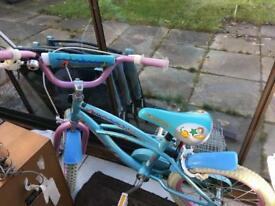 Girls bike for sale