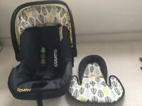 Cosatto multi brand car seat adapters and giggle oaker yellow car seat from birth. From pfsf home