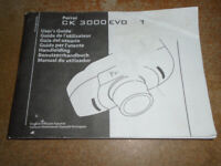a PARROT CK 3000 EVO MOBILE PHONE HANDSFREE KIT USER'S GUIDE, ONLY £2