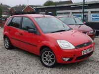 FORD FIESTA 1.4 ZETEC DIESEL 5 DOOR - LONG MOT - PX WELCOME