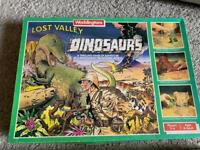 Waddingtons lost valley of the dinosaurs board game vintage