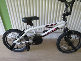 "BOYS BMX ""AMMACO BOOSTER"" ,,16"" WHEEL,360 GYRO...FULLY WORKING,READY TO RIDE AWAY TODAY."