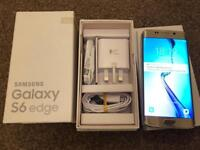 Samsung Galaxy S6 edge 32GB, unlocked, gold platinum, absolutely mint condition, full working.