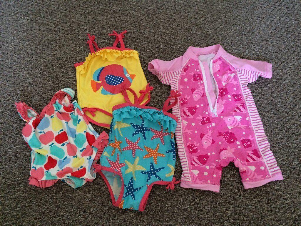 bb14a40fd4c3d Baby Girls swimwear 6-9m
