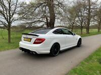 2012 Mercedes C63 AMG Coupe MCT7 FMBSH