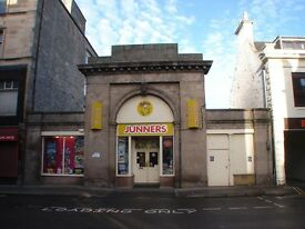 Large Ground Floor Retail Unit for Sale/Rent in Elgin Town Centre suitable for a variety of purposes