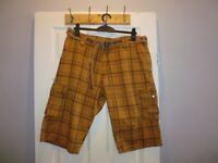 Used, Mens G-Star Raw Shorts Waist Size 38 Complete With Belt - Stunning Condition for sale  Middlesbrough, North Yorkshire