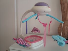 Fisher Price Butterfly and Petal Cot Mobile