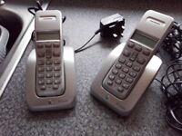 BT STUDIO TWIN CORDLESS PHONES