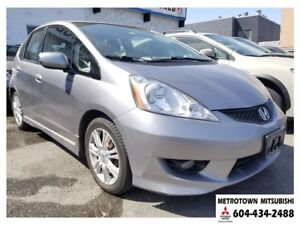 2009 Honda Fit Sport; Local BC vehicle! LOW KMS!
