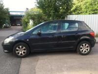 PEUGEOT 307 1.6 HDI LONG MOT STARTS AND DRIVERS 2007