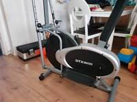 Dtx fitness 2 in 1 cross trainer/exercise bike