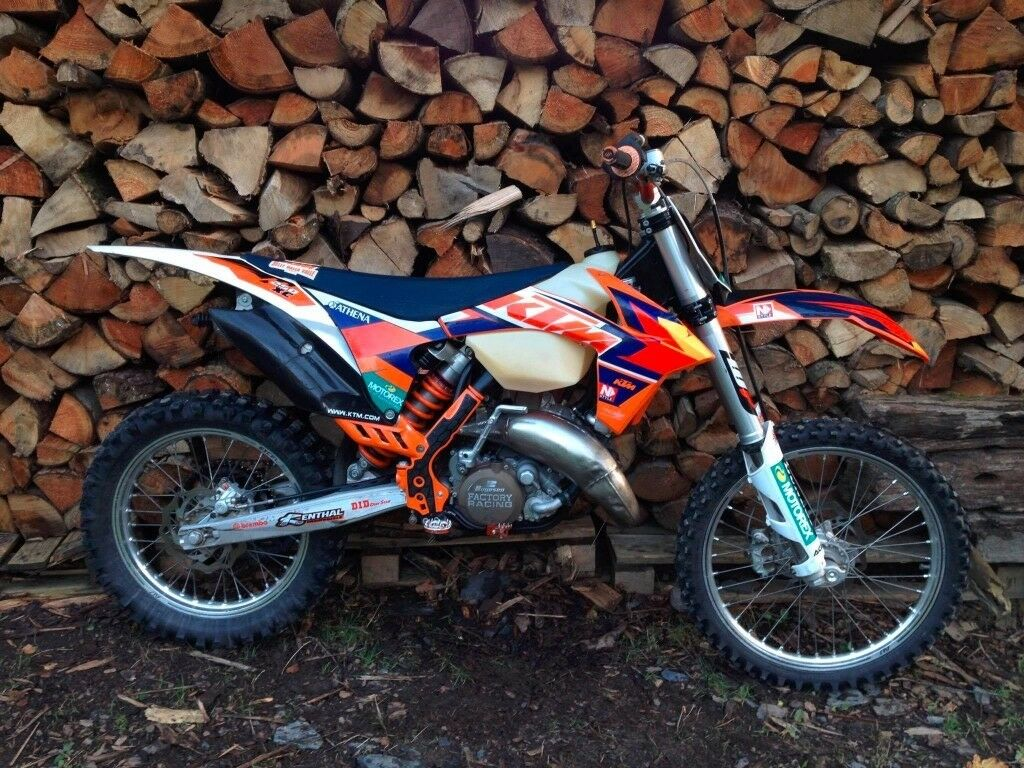 ktm xc 150 2011 (px for trials bike) | in llanfyllin, powys | gumtree