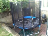 6ft Trampoline for two children excellent condition.