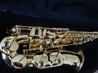 2 year old Selmer SA 80 Series II Alto Sax - Jubilee - Gold lacquer
