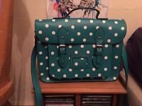 Spotty Leather Bag
