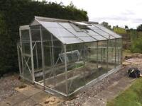 Large greenhouse 12x8ft
