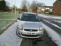 3 door 1.25 fiesta full m.o.t only 68000 miles h.p.i clear