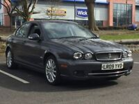 2009 JAGUAR X TYPE 2.0 DIESEL * MANUAL * H/LEATHER * S/HISTORY * PART EX WELCOME * DELIVERY *