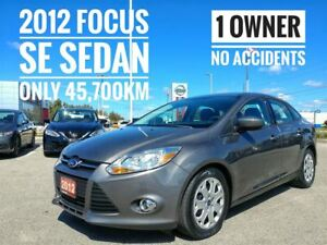 2012 Ford Focus SE One Owner  FREE Delivery