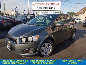 2013 Chevrolet Sonic LS Auto/On Star/Low KM&GPS*$39/Wkly