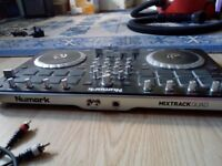 Numark Mixtrack Quad Channel controller, with audio and usb cable included, used good condition