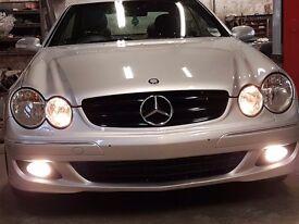 Mercedes clk coupe 220 cdi full test full service history mint car