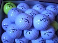 20 CALLAWAY GOLF BALLS PEARL GRADE.