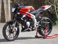 2013 RIEJU RS3 50 NKD NAKED 50CC MOPED 6 SPEED MANUAL LOW MILEAGE LONG MOT DELIVERY AVAILABLE