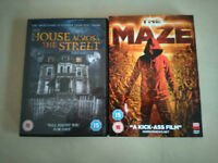 2 Horror Movie DVDs