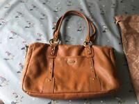 Elizabeth Tan Leather changing bag - Storksak